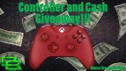 Win an Xbox one Wireless Controller and $50.00!!!