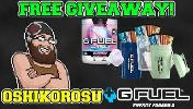 WIN FREE GFUEL WITH OSHI!