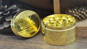 WIN: GOLD Zinc Herb Grinder