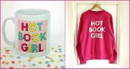WIN: Hot Book Girl mug and sweater set