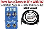 WIN JB NANO AND GEORGE L'S EFFECTS KIT