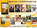 WIN: Kindle Fire + 13 books