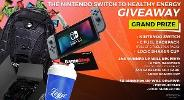 WIN NINTENDO SWITCH & G FUEL PRIZE PACK