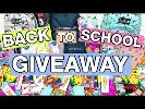WIN School Supplies OR $250 Gift Card!