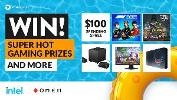 Win super hot OMEN and Intel gaming prizes