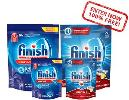Win & test the new Finish Dishwasher Tablets for free