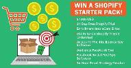 Win The ULTIMATE Shopify Starter pack including $1,000 Cash