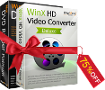 WinX HD Video Converter Deluxe Full License