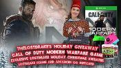 You win the following:A free Copy of Call of Duty Modern Warfare for Xbox One ,A DrakeMas Ugly Christmas Sweater ,Holiday LostDrake Winter Beanie & $40 Advanced.GG GiftCard (Provided by my Sponsor Advanced.GG)