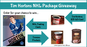 Tim Hortons NHL Package Giveaway""