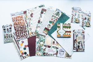 Timeless Yuletide Cardstock Supplies