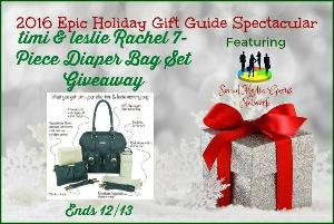 timi & leslie Rachel 7-Piece Diaper Bag Set Giveaway