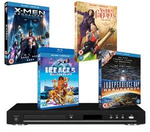 Top movies on Blu-ray & a Blu-ray player Giveaway