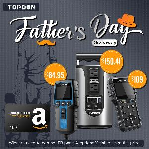 TOPDON Father's Day Giveaway