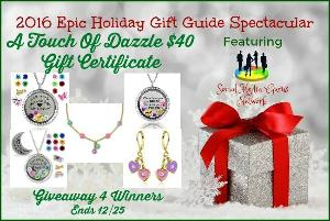 Touch of Dazzle $40 Gift Certificate GIVEAWAY
