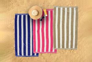 towels on beach
