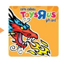 "Toys ""R"" Us Gift Card"