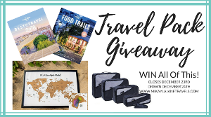 Travel Pack December Giveaway