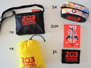 travel related prizes
