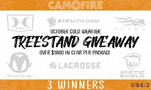 TREE STAND GIVEAWAY