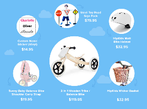 TRIKE GIVEAWAY OVER $300