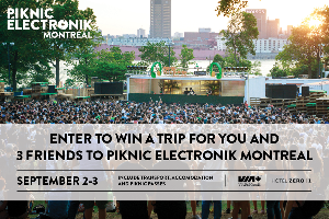 Trip for 4 to Piknic Electronik Montreal ($1,500)