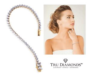 Tru-Diamonds Tiffany-style bracelet Giveaway!