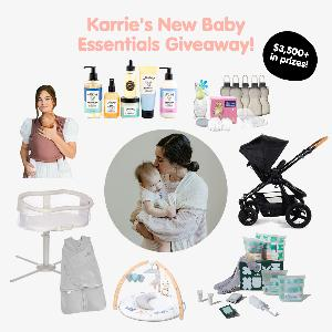 Tubby Todd Bath Co. and Pregnant Chicken have teamed up with some of Karrie Locher's fave brands to gift over $3500 in baby must-haves to one lucky winner!
