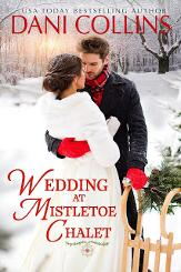 Tule tote, book swag, and print copy of Wedding at Mistletoe Chalet.