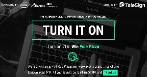 Turn On 2FA and Win Lenovo Yoga 910 Laptop