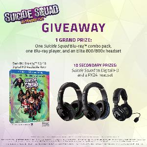 Turtle Beach x Suicide Squad Giveaway