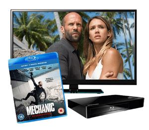 TV and Blu-ray player Giveaway