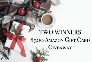 Two $500 Amazon Gift Card
