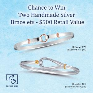 Two Handmade Silver Bracelets Giveaway ($500 Value)