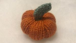 TWO LUCKY WINNERS WILL RECEIVE..1x Mini hand made Knitted Pumpkin!