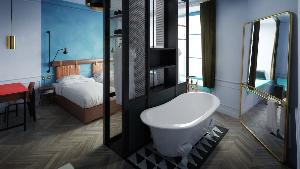 contest two night stay at the hoxton paris. Black Bedroom Furniture Sets. Home Design Ideas