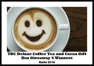 Two Rivers Coffee Deluxe Coffee Tea and Cocoa Gift Box Giveaway
