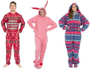 Ugly Christmas Pajamas Giveaway