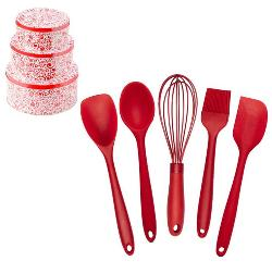Ultimate 5-Pc Silicone Baking Utensil Set and Cookie Tins Set Giveaway