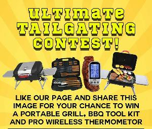 Ultimate BBQ Grill Tailgating Contest