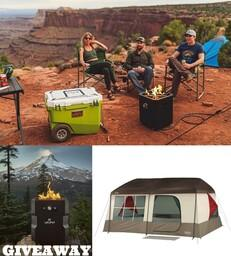 Ultimate Camping Giveaway Package