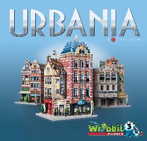 Urbania Collection 3D Puzzle