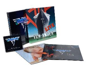 Van Halen CD and LP prize pack