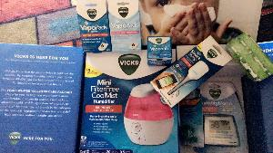 Vicks Winter Wellness Care Kit Giveaway