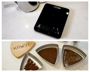 Voom Works Scale and Kruve Sifter 12
