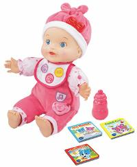 VTech Baby Amaze Learn to Talk & Read Baby Doll ($29.99)