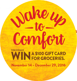 WAKE UP TO COMFORT CONTEST