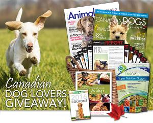 Watch out Canadian Dog Lovers- WIN a Prize Package