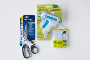 Westcott Scissors and Glue Gun