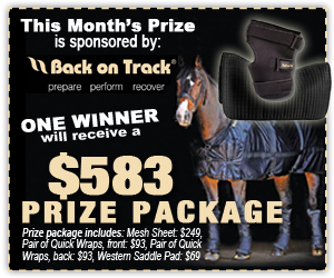 Western Horseman Monthly Sweepstakes